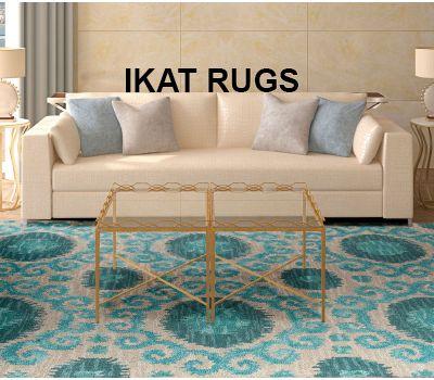 Ikat Rug – Decor Your Home Beautifully!