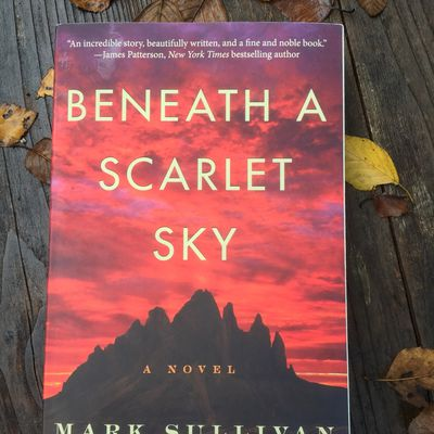 Beneath a Scarlet Sky (by Mark Sullivan)