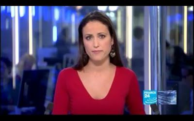 2012 04 04 @18H00 - JESSICA LE MASURIER, FRANCE 24, THE NEWS