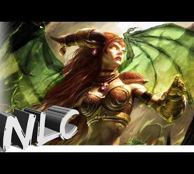 LoL - Zyra Dragon Sorceress - Custom Skin
