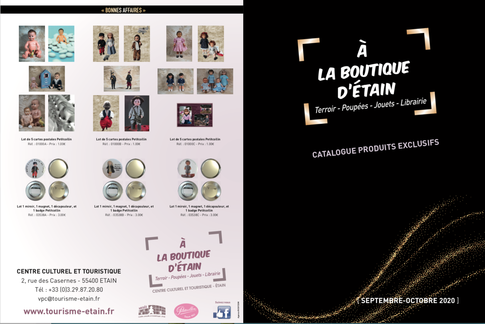 Catalogue A la boutique d'Etain • Septembre-octobre 2020