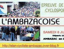 Une bonne nouvelle : l'Ambazacoise revient !