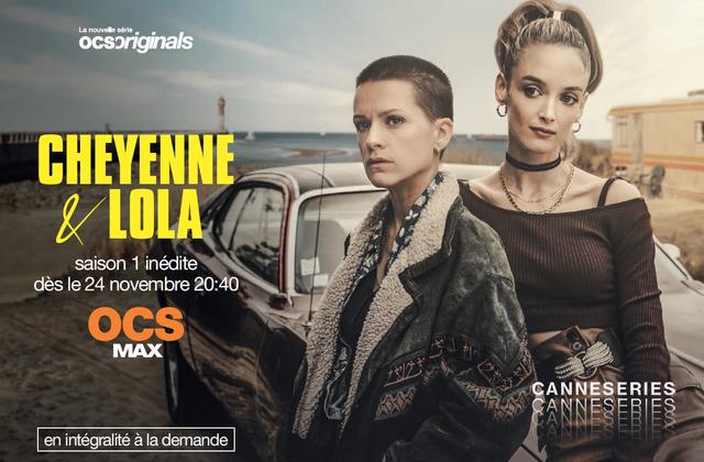 La série Cheyenne et Lola, avec Veerle Baetens et Charlotte Le Bon, à découvrir dès ce mardi.