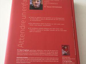 livre : attendre un enfant René frydman christine Schilteedition hachette famille sur charlotteblablablog