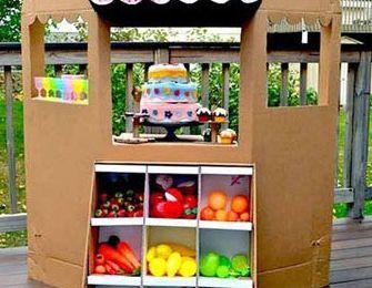 Comportamientos Eco: Recicla cajas de cartón
