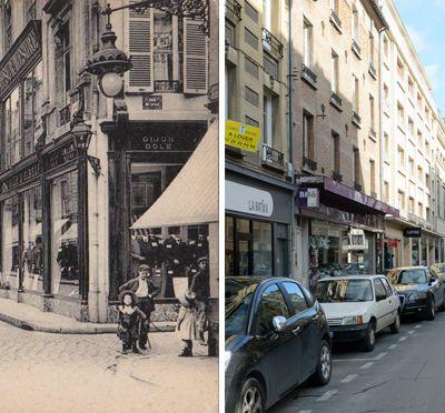 Rue de l'Arbalète et rue de la Clef