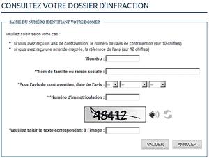 Contraventions: suivez votre dossier sur www.antai.gouv.fr