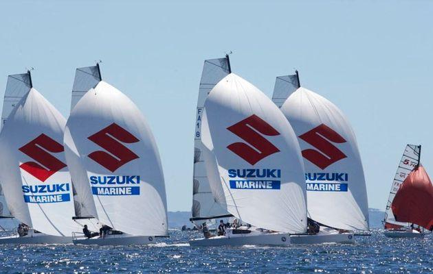 Grand Prix de l'Ecole Navale - ça chauffe entre Brest et Morgat !!
