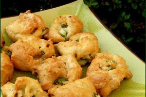 Minis choux Courgette - Fourme d'Ambert