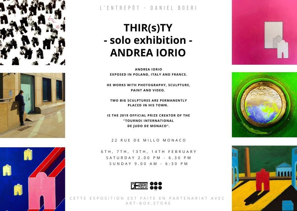 L'ENTREPOT / ANDREA IORIO EXPOSITION