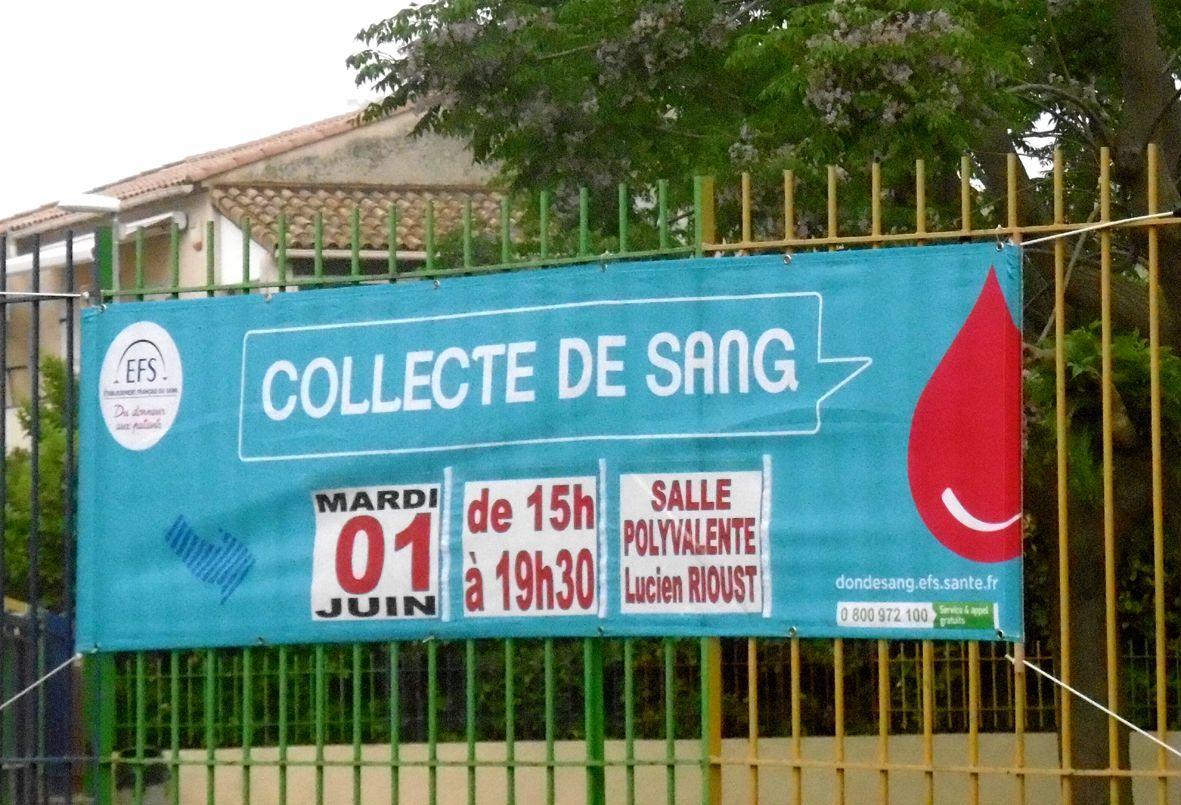 Don du sang à Valergues: c'est demain!