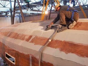 La construction d'un voilier RM de A à Z - la coque et le pont (1/3)