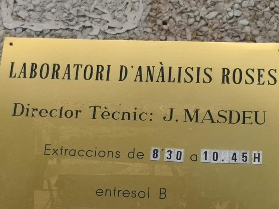 Pour faire un test PCR à Rosas