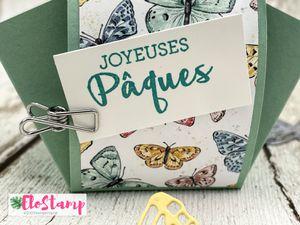 Live Facebook : panier de Pâques