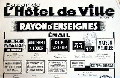 Mémoires : Le BHV à travers l'Histoire n°48   en 1933