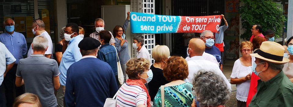 Communiqué la France Insoumise Pays basque | Non à la fermeture de la Poste Polo Beyris