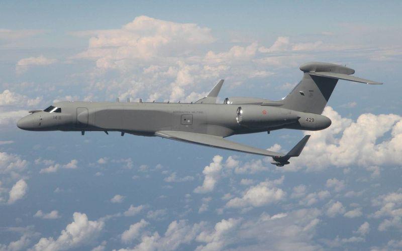 L'Aeronautica Militare réceptionne son second avion d'alerte avancée Gulfstream G-550 CAEW