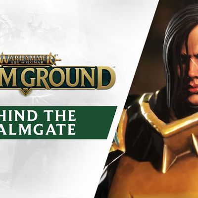 #GAMING - Warhammer Age of Sigmar Storm Ground - Rencontrez l'équipe de Gasket Games avec le trailer Behind the Realmgate