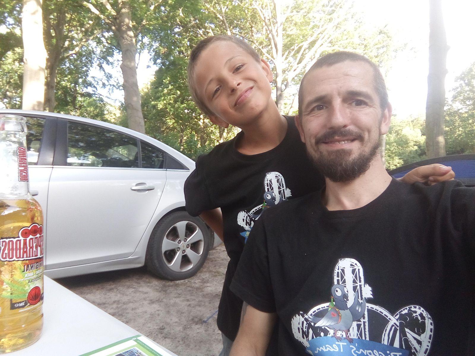 Trip entre père et fils.
