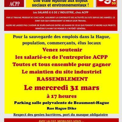 Rassemblement ACPP - 31 mars 2021