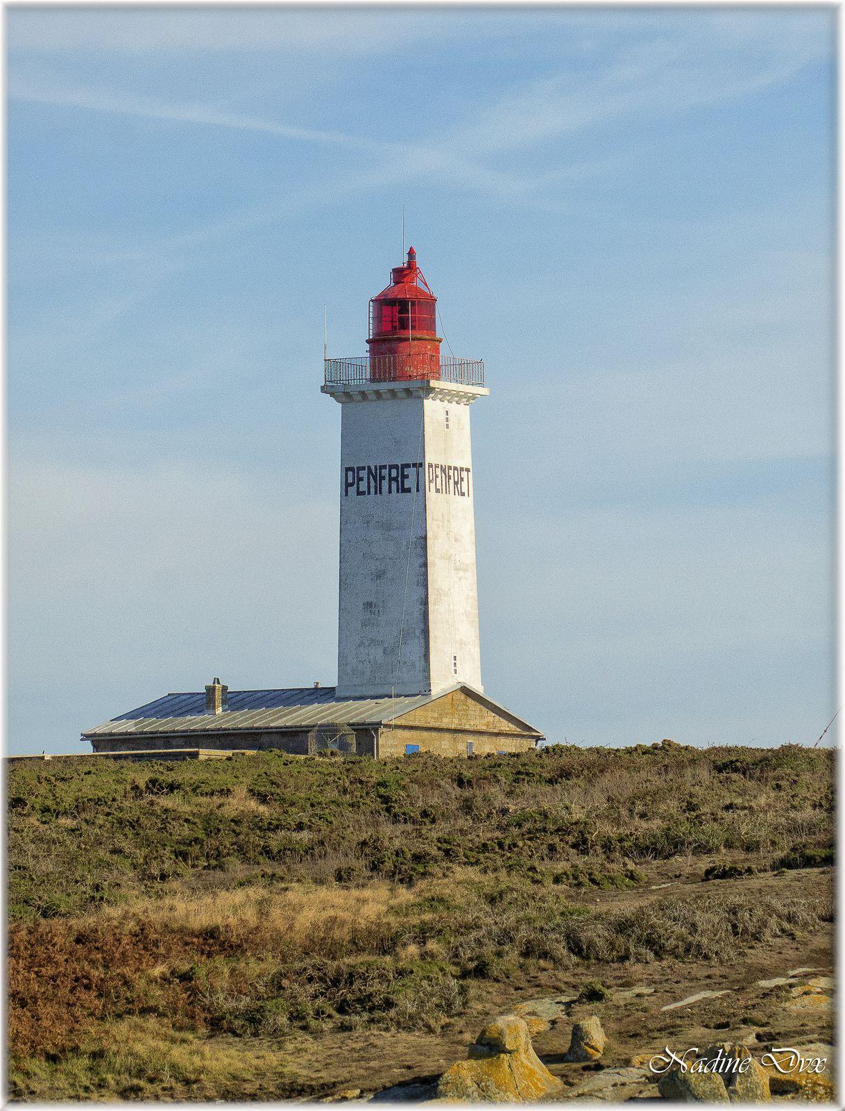 Phare de Penfret - île de Penfret - Archipel des Glénan