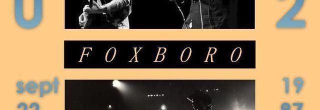U2 -Joshua Tree Tour -22/09/1987 -Foxboro -USA -Sullivan Stadium