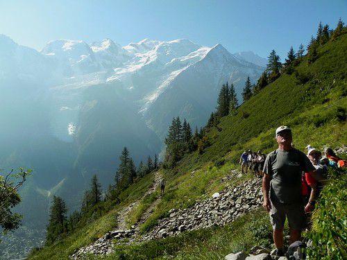 Randonnée ADAPAR du Parc Merlet à l'Aiguillette des Houches le 07 sept. 2012
