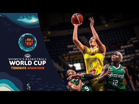Les highlights de la performance de Liz Cambage face au Nigéria