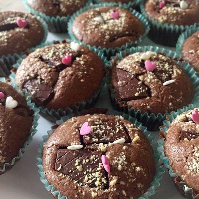 Recette Muffins au chocolat fondant/coulant