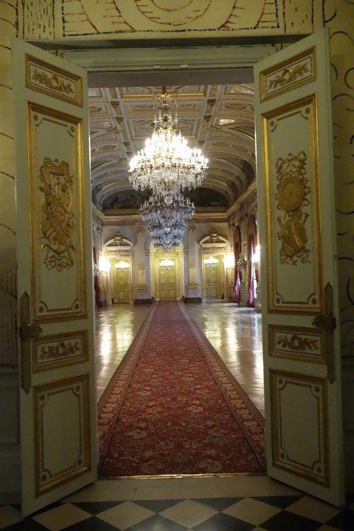 Les peintures de Delacroix dans le salon du Roi, le Salon Pujol, la Galerie des fêtes