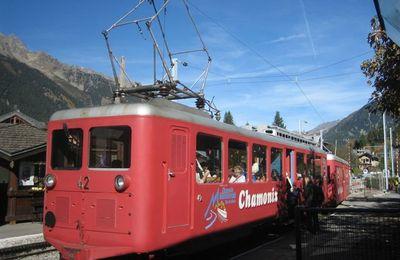 De Chamonix à la mer de glace, le train du Montenvers