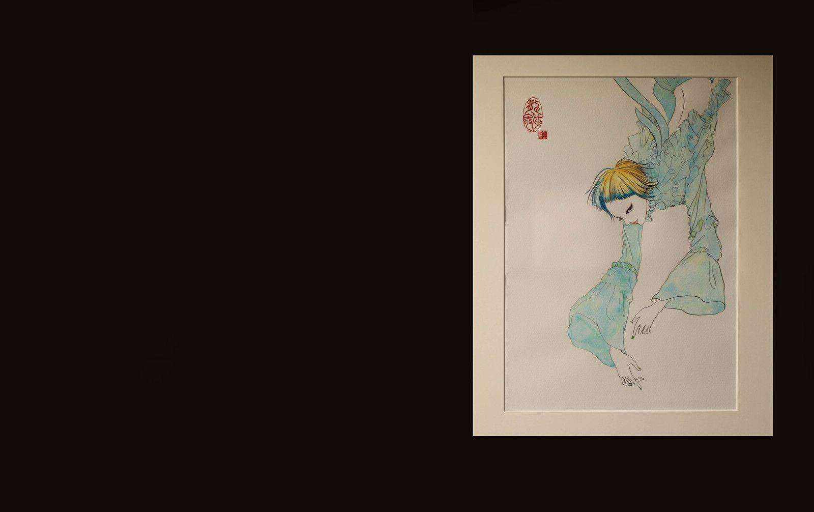 """""""Mizuiro"""", 2020 de Eldo YOSHIMIZU - Courtesy Galerie Art Factory © Photo Éric Simon"""