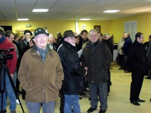 Inauguration de la restauration de la fresque des mineurs à Algrange