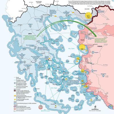 Grèce-Turquie : tensions géopolitiques en Méditerranée