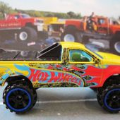 1997 FORD F-150 PICK-UP REHAUSSE PLATEAU FERME HOT WHEELS 1/64 - car-collector.net