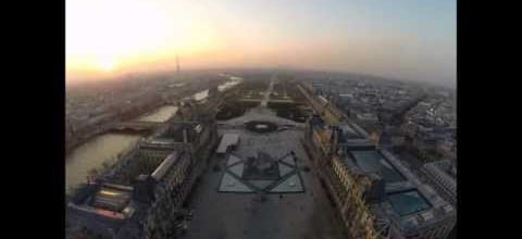 Paris from the eye of a drone