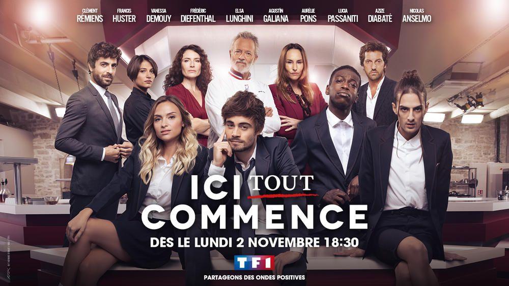 """""""Ici tout commence"""", nouvelle série quotidienne diffusée dès le 2 novembre sur TF1"""