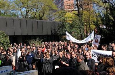 Escalade d'un conflit social à l'office européen des brevets (OEB)