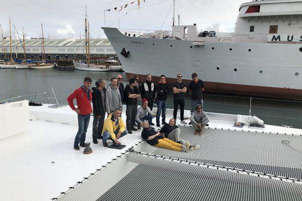 Le chantier rochelais Naval Force 3 lance le nouveau catamaran Kapalouest II