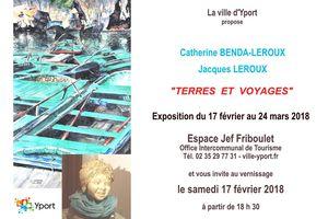 """Exposition """"Terres et Voyages"""" à Yport..."""