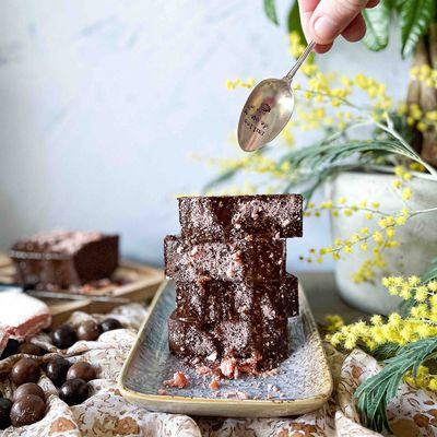 Gâteau au chocolat sans beurre et sans sucre
