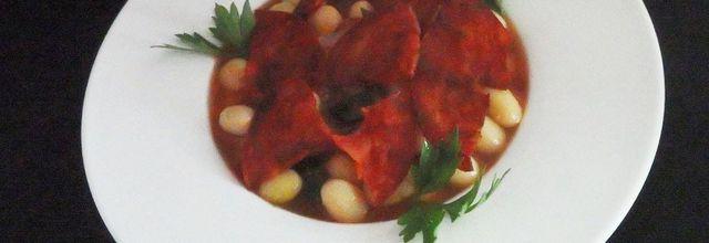 Cocotte d'haricots blancs au chorizo