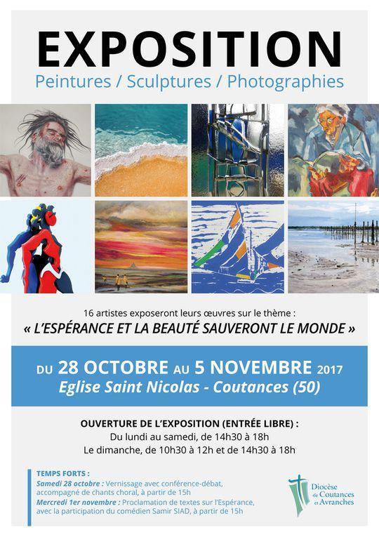 Exposition L'Espérance Saint-Nicolas de Coutances... du 28 octobre au 5 Novembre