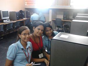 Alumnos de Secretariado Auxiliar Conbable y Auxiliar Contable del Programa Sabados Matinal.