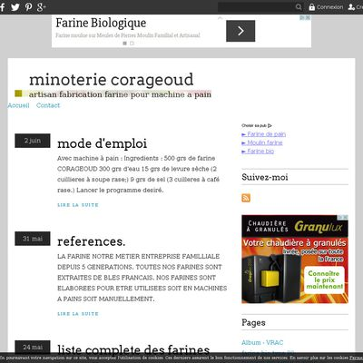 minoterie corageoud