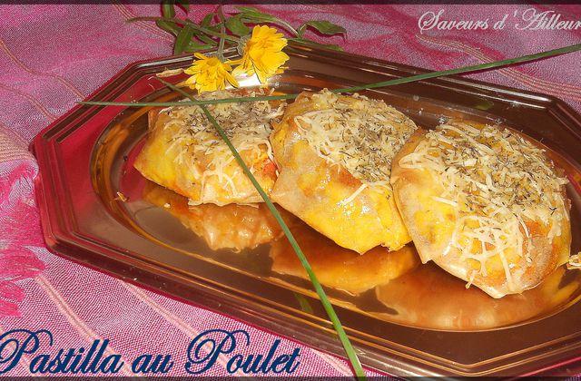 Minis Pastilla au Poulet (recette revisitée)
