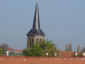 L'Église Saint-Remi.de Lindre-Basse et alentour...