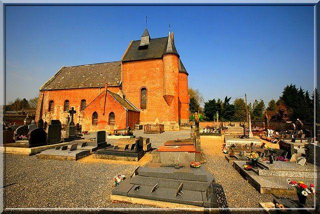 Diaporama église fortifiée de Malzy