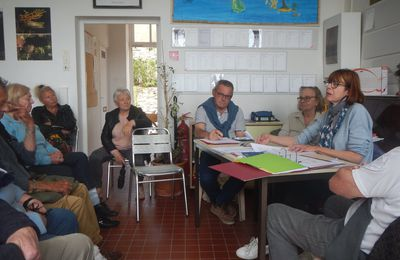 L' AG 2018 du Comité d'Intérêt Local de l'Île du Levant..