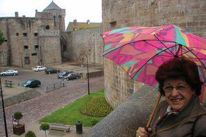 à NY: vous en avez des jolis parapluies!
